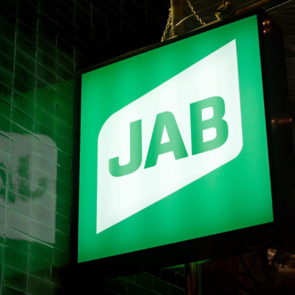 JAB signage